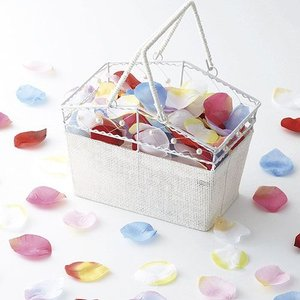 フラワーシャワー「花びらシャワー」バスケット付きOA14E76-1072|hanakobo-wedding