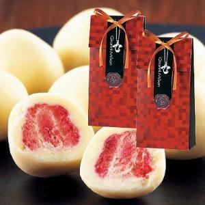 バレンタイン義理チョコ、結婚式の引き菓子に「グラン・ミリオン高級苺チョコレート」OA5-50GM02|hanakobo-wedding
