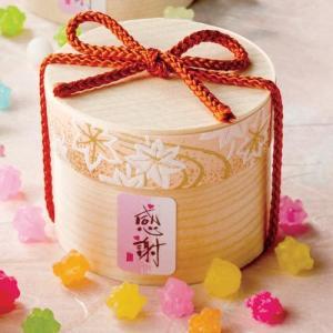 お菓子のプチギフト 感謝 ありがとう「四季の彩 もみじ(こんぺい糖)」退職 異動 お礼お返し お正月お年賀 結婚式 業務用 大量 販促OGT873|hanakobo-wedding