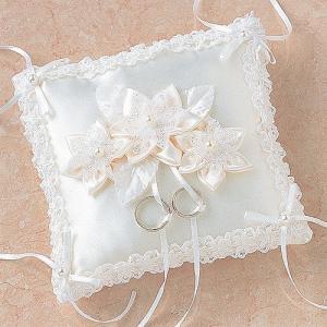 結婚式の手作りキット「ロマンティックリングピロー・洋スクエア 」結婚式、ウェディングにTAK4491|hanakobo-wedding