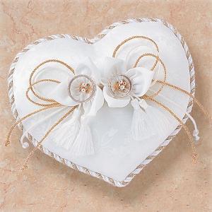 結婚式の手作りキット「ロマンティックリングピロー・和ハート」結婚式、ウェディングにTAK4494|hanakobo-wedding