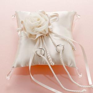 結婚式の手作りキット「モダンリングピロー・シャンパンゴールド」結婚式、ウェディングにTAK-RP10|hanakobo-wedding