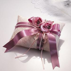 手作りキット「ドラマティックリングピロー・バイオレット」結婚式、ウェディングにTAK-RP14|hanakobo-wedding