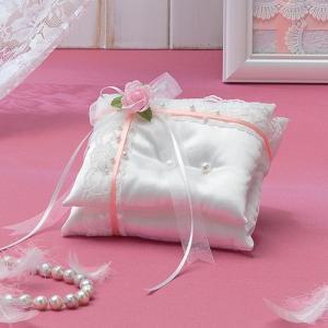 手作りキット「天使のロイヤルリングピロー・ピンク」結婚式、ウェディングにTAK-RP7|hanakobo-wedding
