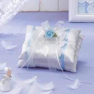 手作りキット「天使のロイヤルリングピロー・ブルー」結婚式、ウェディングにTAK-RP8|hanakobo-wedding