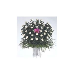 お通夜・葬儀用生花 こちらの商品は、当店が提携しています通信販売の全国加盟店より、現地の生花店より配...