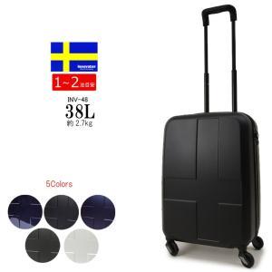 イノベーター スーツケース キャリーバッグ INV48 innovator 容量38L/約2.7kg(1泊〜2泊)機内持ち込み キャリーケース ファスナータイプ ラッピング不可商品|hanakura-kaban