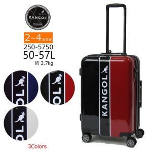 【お問い合わせ番号】250-5750 【商品名】カンゴール KANGOL スーツケース 【旅行日数】...