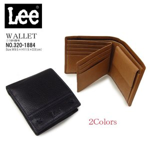 Lee リー 二つ折り財布 320-1884 中ベラ付|hanakura-kaban