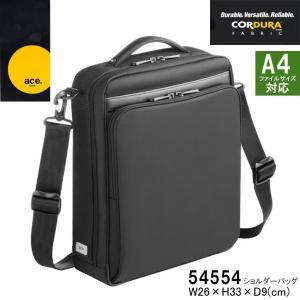 エースジーン ACEGENE ショルダーバッグ セカンドバッグ メンズ A4対応 超軽量 54554 FLEX LITE FIT hanakura-kaban