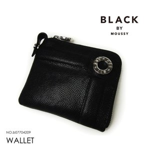 ブラックバイマウジー 財布 BLACK BY MOUSSY コンパクト財布 レディース b07704209|hanakura-kaban