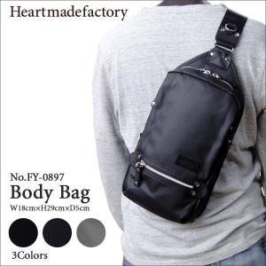 ハートメイドファクトリー(HEART MADE FACTORY)ボディバッグ ワンショルダーバッグ メンズ レディース FY-0897 HARVEST hanakura-kaban