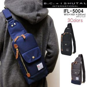 BCイシュタル B.C.+ISHUTAL ボディーバッグ ワンショルダーバッグ BCイシュタル フィール IFL-5004 メンズ レディース|hanakura-kaban