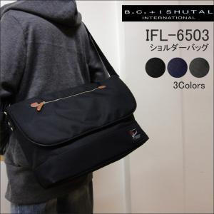 BCイシュタル B.C.+ISHUTAL ショルダーバッグ メッセンジャーバッグ フィール IFL-6503 メンズ レディース|hanakura-kaban
