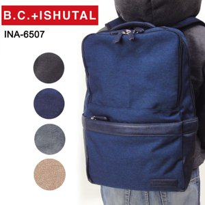BCイシュタル B.C.+ISHUTAL リュックサック INA-6507 撥水 ネイサン メンズ|hanakura-kaban