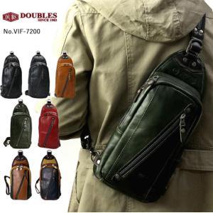 【ブランド名】 ダブルス DOUBLES  【商品番号】 VIF-7200  【商品名】 ボディバッ...