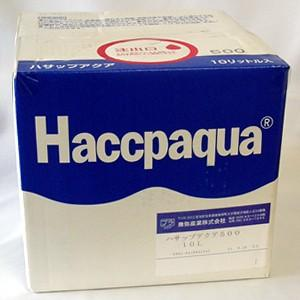 消毒 手指 除菌 消臭 ハサップアクア500 10リットル 次亜塩素酸ナトリウム pH調整済み 正規販売代理店 関東甲信越地域以外は別途送料 ウイルス対策 hanamankai