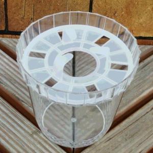 水栽培 容器 ポット ヒヤシンス 1球用 1鉢 球根 チューリップ クロッカス キット hanamankai
