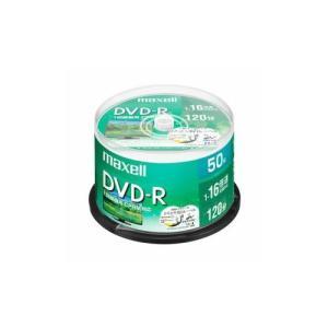 maxell 録画用 DVD-R 標準120分 16倍速 CPRM プリンタブルホワイト 50枚スピンドルケース DRD120WPE.50S hanamaru-ya