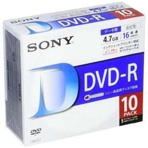 SONY データ用DVD-R 16倍速 5mmケース 10枚パック 10DMR47LLPS hanamaru-ya