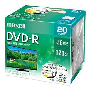 maxell 録画用 DVD-R 標準120分 16倍速 CPRM プリンタブルホワイト 20枚パック DRD120WPE.20S hanamaru-ya