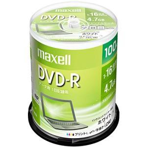 maxell データ用 DVD-R 4.7GB 1-16倍速 プリンタブルホワイト 100枚スピンドルケース DR47PWE.100SP hanamaru-ya