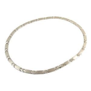 チタン製高級ゲルマ ネックレスゲルマニウム 240石ゲルマネック (メンズ:240粒、長さ60cm)|hanamaru-ya