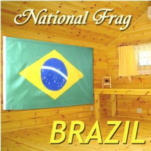国旗 BRASIL ブラジル共和国 大サイズ(150×90cm)|hanamaru-ya