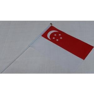 手旗 国旗 シンガポール/万国期 国旗 インテリア 世界 ミニ 国旗 ガーランド 国旗|hanamaru-ya