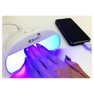 High Quality TIP LED LIGHT LEDライト 5W RO-LEDPK タイマー付/ネイル/フットネイル/USB対応 hanamaru-ya