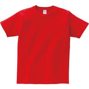 プリントスター 半袖 5.6オンス へヴィー ウェイト Tシャツ 00085-CVT_K ボーイズ レッド 160cm (日本サイズ160相 hanamaru-ya