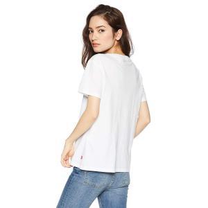 リーバイス クルーネックTシャツ THE PERFECT TEE レディース 17369-0053 Neutrals US M (日本サイズ hanamaru-ya