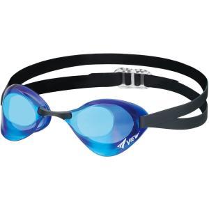 ビュー(VIEW) スイミング 競泳用 ゴーグル ミラータイプ ブレード Fina承認 V121MR CBLBL hanamaru-ya