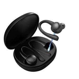Bluetooth 5.0 イヤホン 耳掛け型 ワイヤレスイヤホン Hi-Fi高音質 ヘッドセット IPX6完全防水 両耳 左右分離型 瞬時|hanamaru-ya