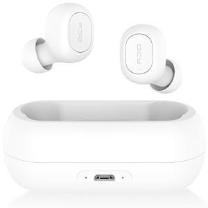 QCY T1 ワイヤレスイヤホン Bluetooth 5.0 自動ペアリング 完全ワイヤレス ブルートゥース イヤホン bluetooth|hanamaru-ya