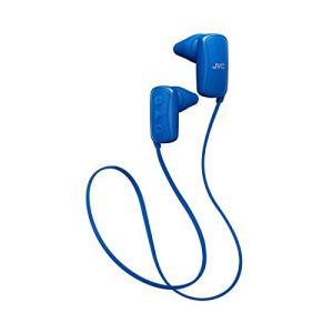 JVC スポーツ用ワイヤレスイヤホン Bluetooth対応 ブルー HA-EB10BT-A|hanamaru-ya