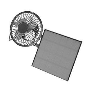 ソーラー 携帯扇風機 ミニファン 卓上扇風機 太陽エネルギ USB充電 電池不要 ソーラーパネル付き 旅行 キャンプ 屋外 屋内用 熱中症・ hanamaru-ya