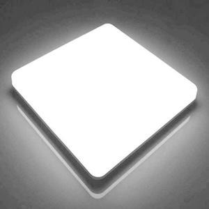 LEDシーリングライト48W 6000K 4320LM 8~10畳 防水IP44角型シーリングライト Ketom LEDシーリングライト 天|hanamaru-ya