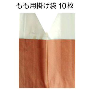 桃用掛け袋(掛袋/果実袋)  撥水防虫二重袋 10枚入 <8...