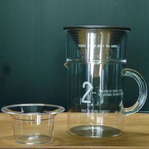 キントー KINTO SLOW COFFEE STYLE コーヒージャグセット 300ml|hanamomimo-zakkaten