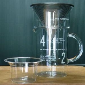 キントー KINTO SLOW COFFEE STYLE コーヒージャグセット 600ml|hanamomimo-zakkaten