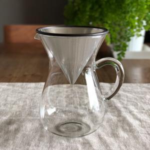 キントー KINTO SLOW COFFEE STYLE コーヒーカラフェセット 600ml ステンレス SCS-04-CC|hanamomimo-zakkaten