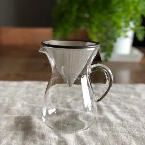 キントー KINTO SLOW COFFEE STYLE コーヒーカラフェセット 300ml ステンレス SCS-02-CC|hanamomimo-zakkaten