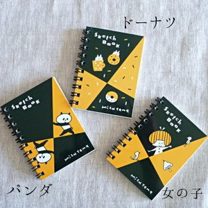 Greeting Life グリーティングライフ マルマン ミニチュア スケッチブック mizutama|hanamomimo-zakkaten