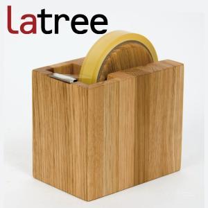 Latree DEN  デン テープカッター しかく オーク|hanamomimo-zakkaten