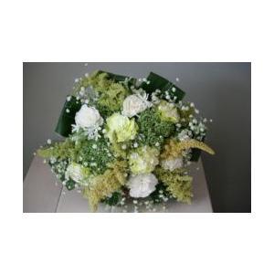 お供え用花束  シュトラウス  スパイラル花束|hanamusubi333