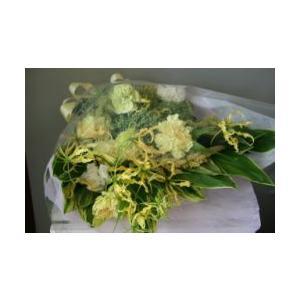 お供え用花束  ワンサイドで仏前用|hanamusubi333