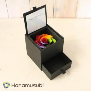 プリザーブドフラワー 「DIAMOND ROSE GUARNTEE S」 (引出し付)|hanamusubi333