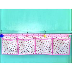 【30%OFF価格】KITSCH KITCHEN ワイドウォールポケット - Pink|hananoco-bazaar