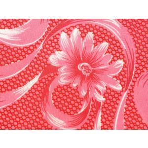 タイ・レトロ花柄生地 / リボンフラワー / W123×95cm|hananoco-bazaar